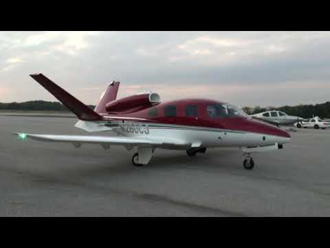 Cirrus Vision SF50 At Tampa, 11/03/09