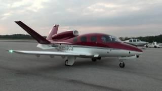 Cirrus Vision SF50 At Tampa, 11/03/09