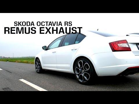 Skoda Octavia III RS with REMUS exhaust