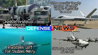 Defense News#21 Chinese Brahmos Missile Exposed,New Generation Drone From China,Pakistan On S400 Dea