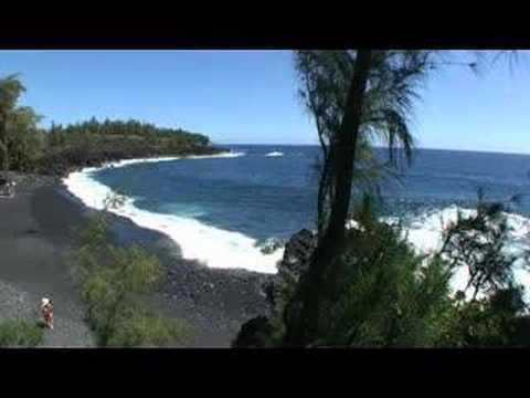 Kehena Black Sand Beach, Puna, Hawaii