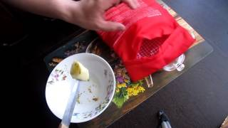 Мешочек для запекания картофеля и кукурузы в микроволновке.
