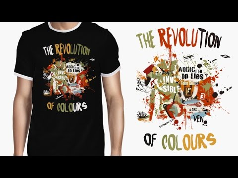 """VEN. A night at the car´s cemetery - Camisetas """"COLLAGES POP"""""""