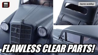 How to glue clear plastic parts - VMS TRANSPA FIX 6K tutorial