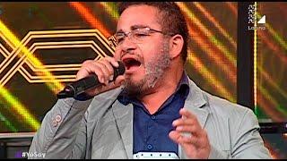 Imitador de Andy Montañez trajo la salsa al casting de Yo Soy
