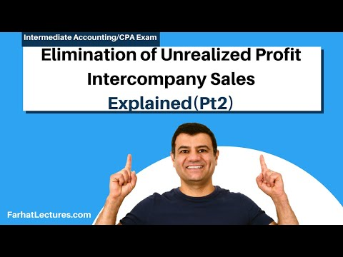 Elimination of Unrealized Profit on Interco. Inventory Sales|Advanced Accounting|CPA Exam FAR|Ch6 P2