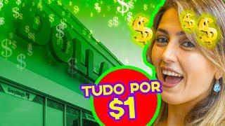 Dollar Tree em Orlando: Tudo por 1 Dólar!