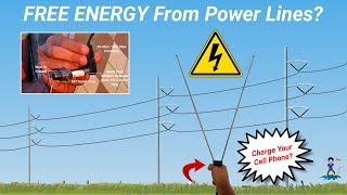 Charging Cell Phones From Power Lines?