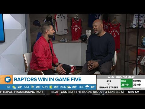 Duane Watson talks Raptors&39; game 5 win