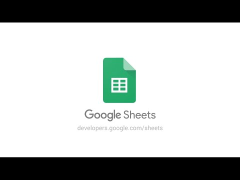 Build seamless integrations with the new Google Sheets API