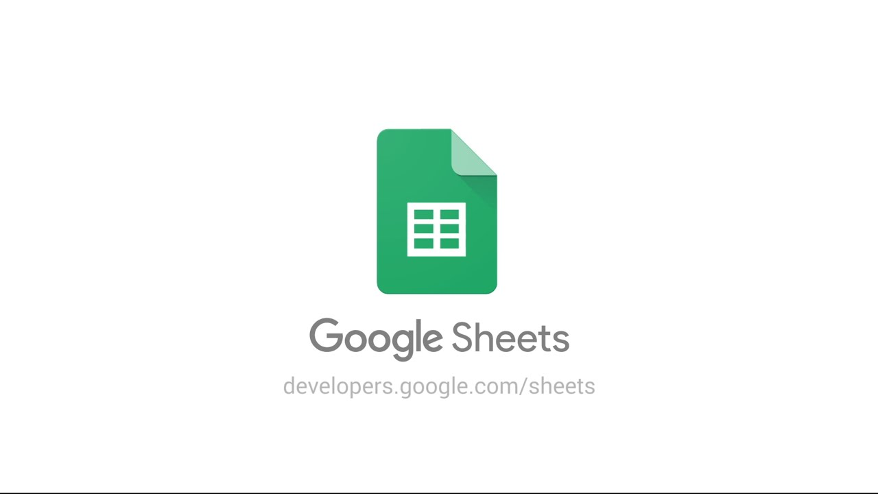 sheets google developers - Picture Sheets