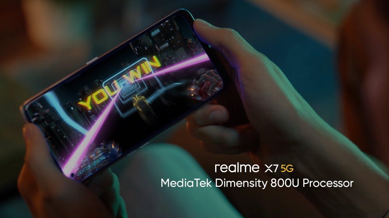 realme X7 5G | MediaTek Dimensity 800U Processor