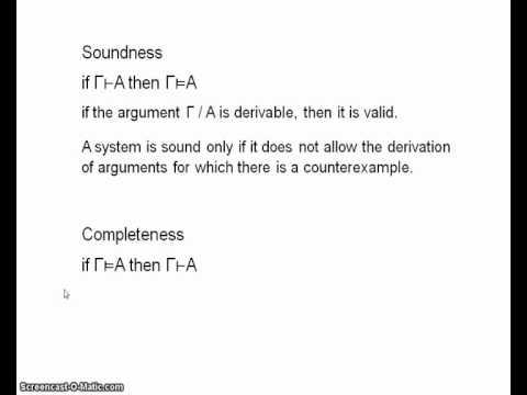 Modal logic 1.5a - soundness & completeness