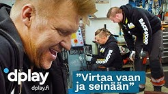 Garage Kings Suomi | Pickup-auton purkutyöt ja uusi nosturi | Dplay.fi