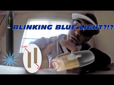 My Blu Blinking Blue Light | Fix it Quick and Easy | Vape How To