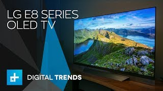 """LG 55"""" E8 Series OLED TV - Hands On Review"""