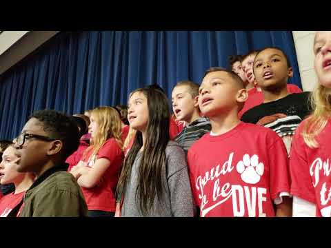 Veterans Day Assemblies at Discovery Canyon Campus High School and Douglass Valley Elementary School