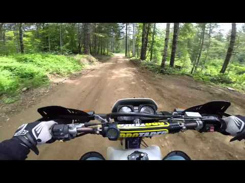 A couple of dual sports explore Browns Camp Oregon in May2014 Part 1