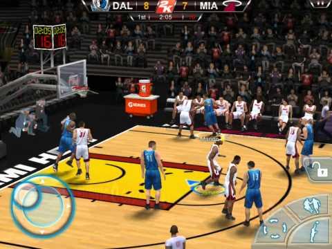 NBA 2K12 IPad Gameplay