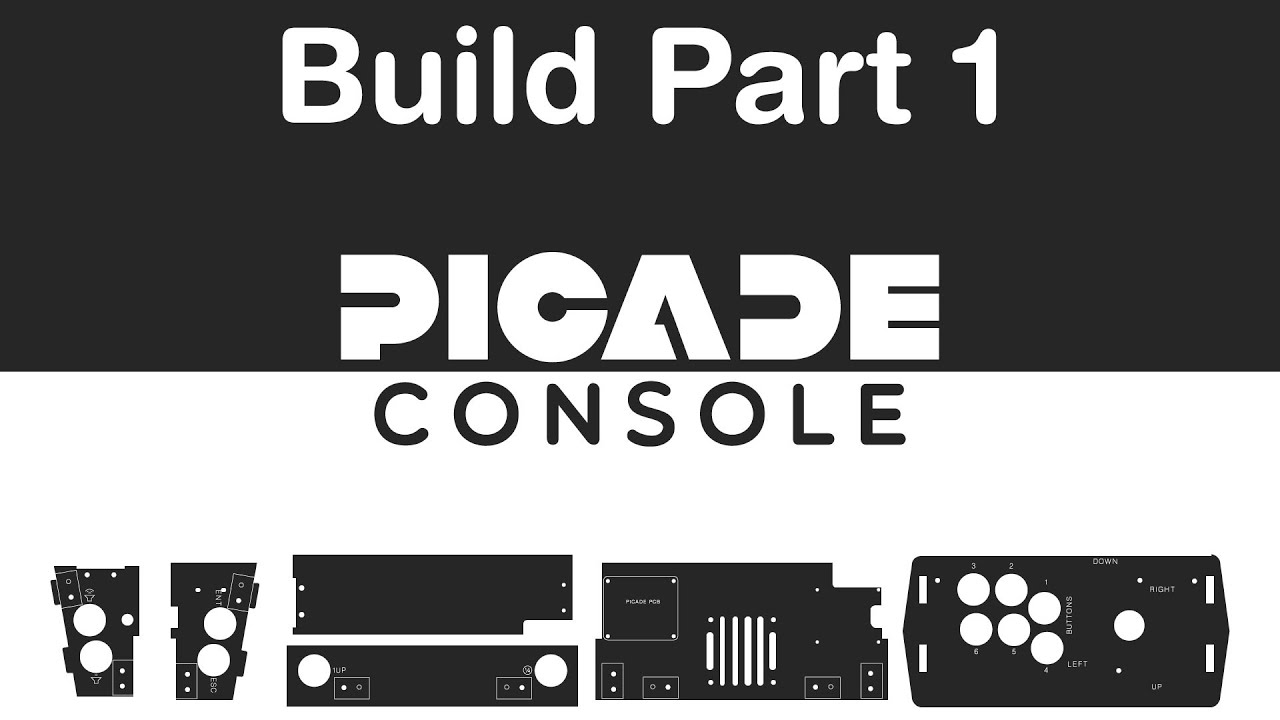 Picade Console Build Video Part 1 - YouTube