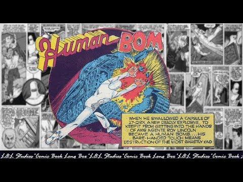 "The Human Bomb: ""The Purple Ray"", Police comics vol 1 #03"