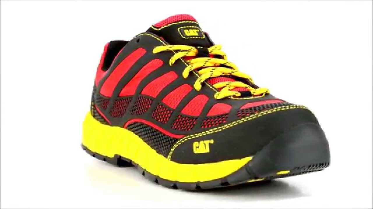 Mens Caterpillar P90287 Composite Toe Work Shoe At Steel Toe Shoes