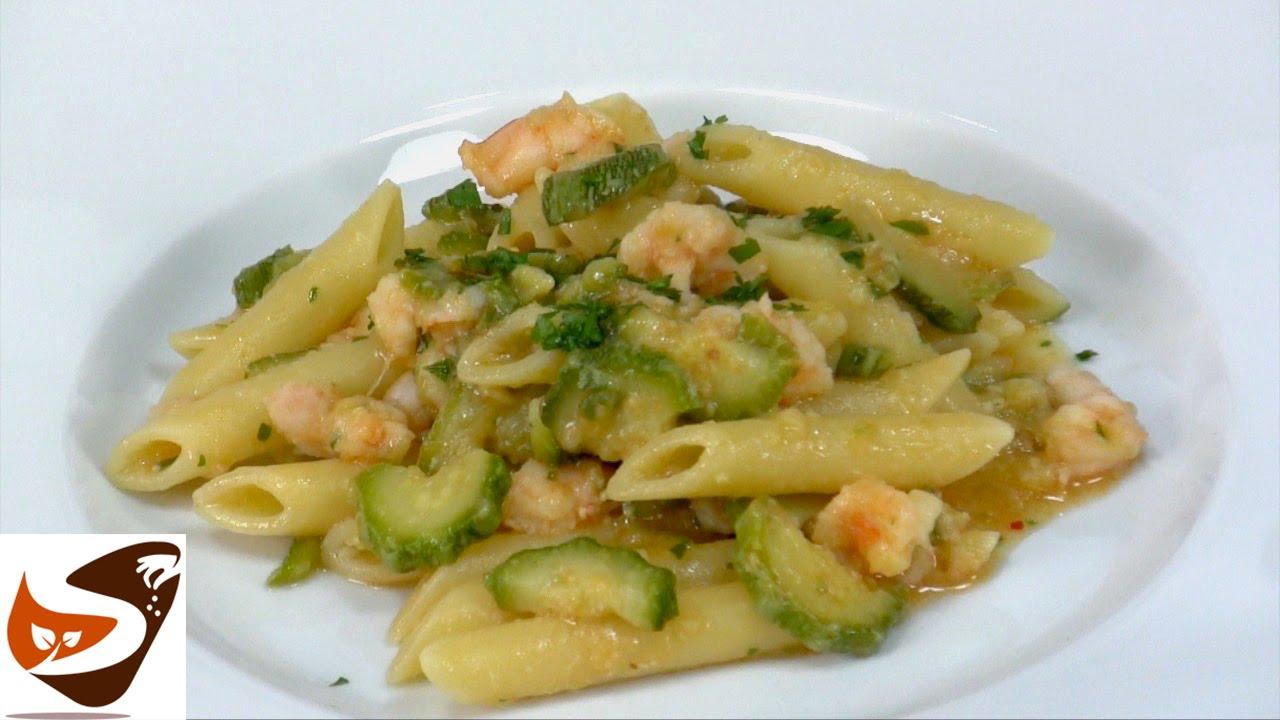 Ricette di cucina gamberetti e zucchine