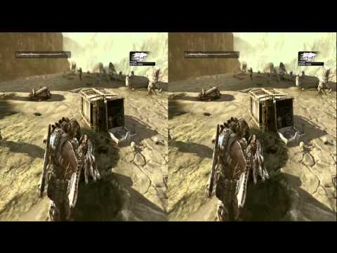Gears of War 3 - 3D campaign (no spoilers)