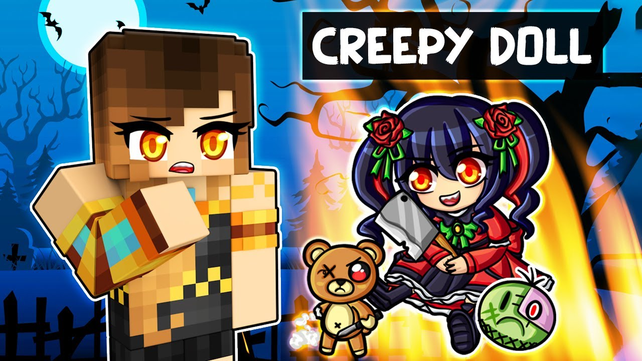 The HAUNTED Minecraft Doll...