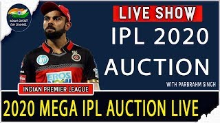 IPL Auction 2020 LIVE TODAY | Mega IPL AUCTION | Live Streaming