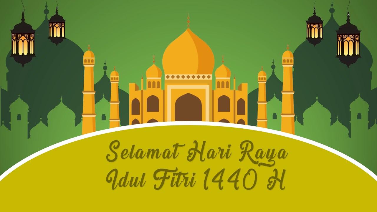 Template Ucapan Idul Fitri Part 4 Status Wa Idul Fitri Free Youtube
