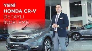 Yeni Honda CR-V 2019 | İnceleme | SUV'nin modern tanımı ile tanışın!