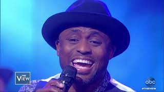 Wayne Brady performs 'Tennessee Whiskey' | The View