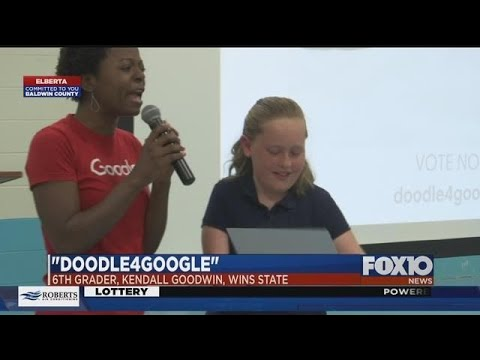 Elberta Elementary School student wins Google competition