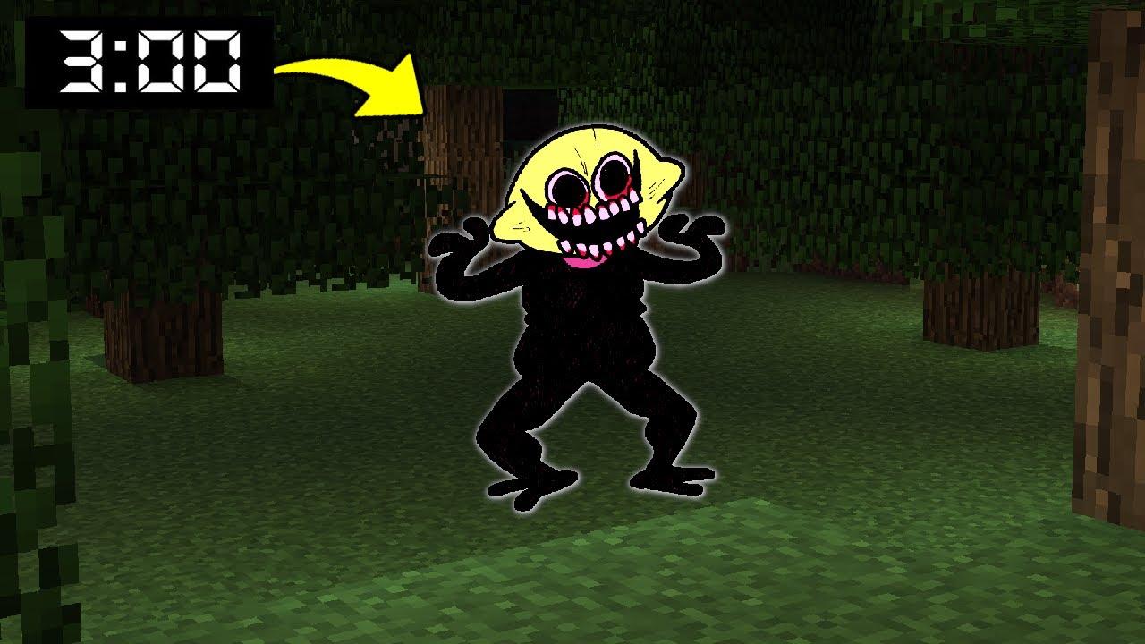 Download SPOTKAŁEM LEMON DEMON w NOCY KTÓRY ZROBIŁ TO... w Minecraft!