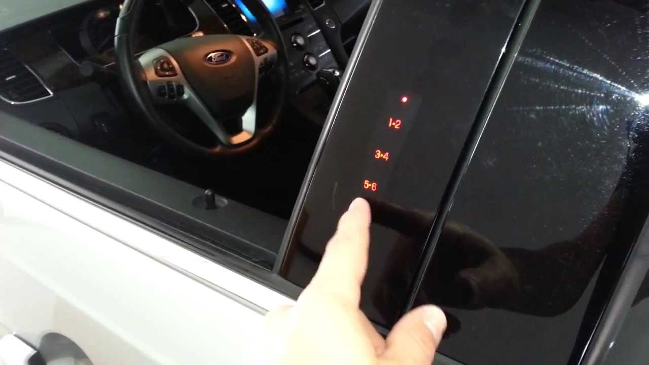 2013 Ford Taurus Limited Sedan Playing With Door Key Pad Keyless