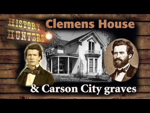 Orion Clemens' House & Carson City Cemetery