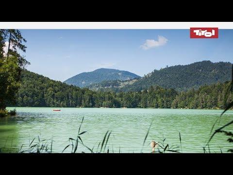 Die schönsten Badeseen & Bergseen in Tirol, Österreich im Sommer