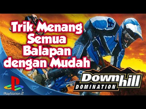 Cara Cheat Downhill Domination PS2