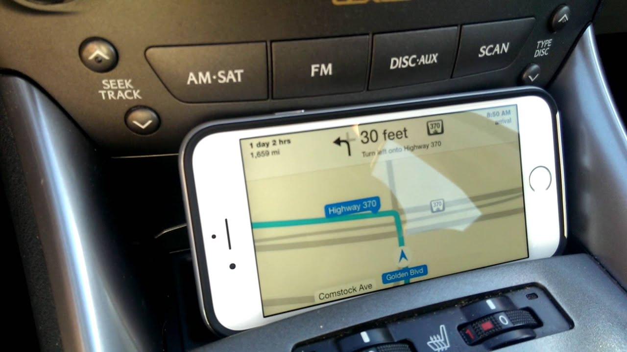 iPhone Maps and Navigation in the Test