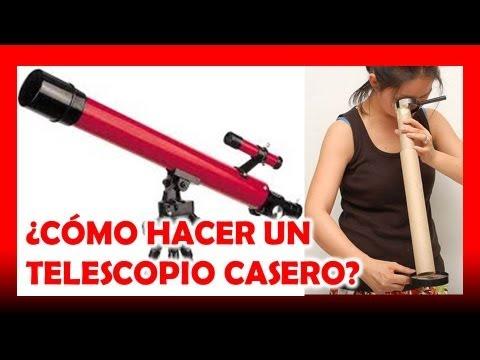 Como hacer un telescopio casero youtube for Como hacer un criadero de peces casero