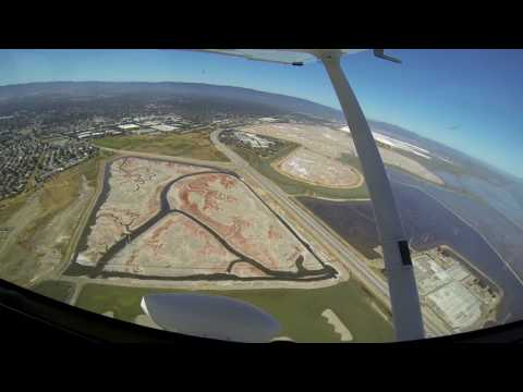 FL87 25June2016 X Country Trip from Palo Alto to Petaluma