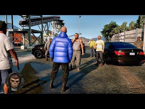 GTA 6 - Photorealistic Graphics ACTION Gameplay! NaturalVision ✪ Remastered - PC 60FPS GTA V MOD