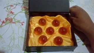 Unboxing Aliexpress#4 Esferas do Dragão-Dragon Ball Z