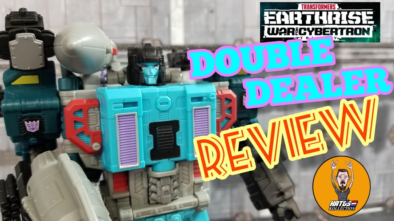 Transformers War For Cybertron Earthrise Doubledealer Review By Kato's Kollection