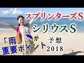 【競馬】スプリンターズS 2018 シリウスS 予想(土曜阪神6R 491倍7点で的中!) ヨー…