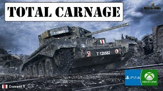 Total Carnage - Cromwell B - World of Tanks Console ( Xbox / PS4 )