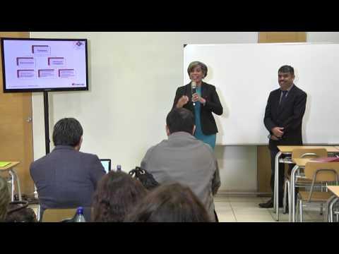 Viernes Sala Desarrollos Institucionales María Alicia Soto , Jenny Moses y Nelson Díaz