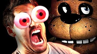 Five Nights at Freddy's w/ TOBII EYE TRACKER