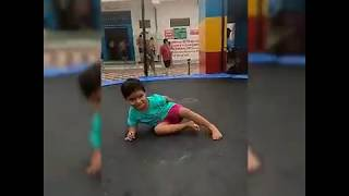Kids jumping,kids playing video/ Palak play World